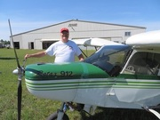 MY CH701 & Me at Zenair Midland CYEE