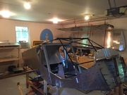 26 Aug 2015 Cabin Frame trimmed and fitted