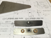 701 Outboard Hinge Pin & Plate