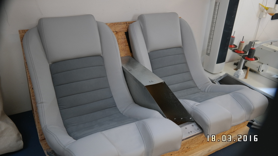 Zodiac 601/650 Interior Kit Without Headrest