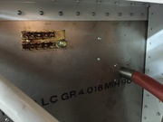 Engine side firewall grounding block