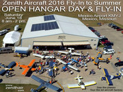 Fly-In to Summer OPEN HANGAR DAY at the Zenith Aircraft factory