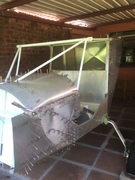91 Forward top skin fitted