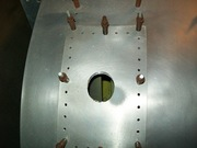 Cutting Main Gear Upper Bearing
