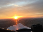 CH701sp Sunset flight