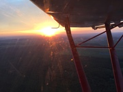 CH701sp Sunset -  Turning into the sun going down !