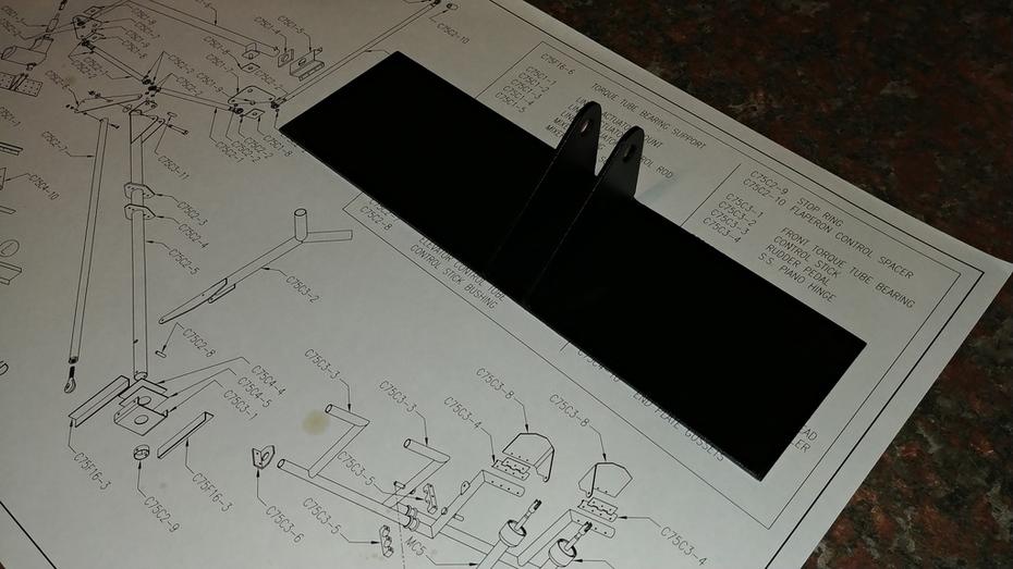 Flap actuator bracket