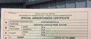 N6969 Airworthiness Cert
