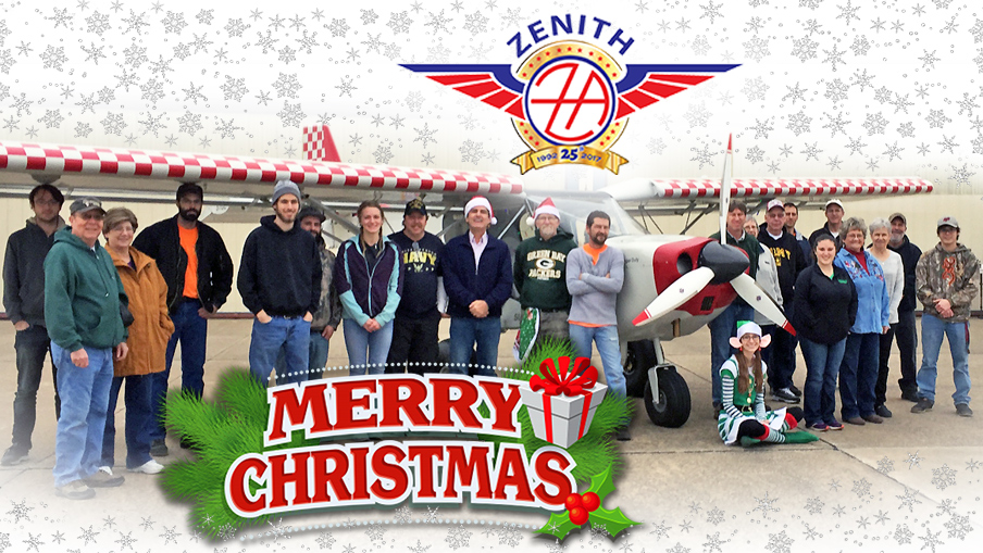 Merry Christmas! Happy Holidays from Zenith Aircraft