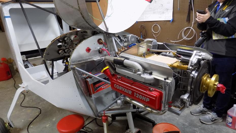 Zenith CH 750 Cruzer - Corvair installation