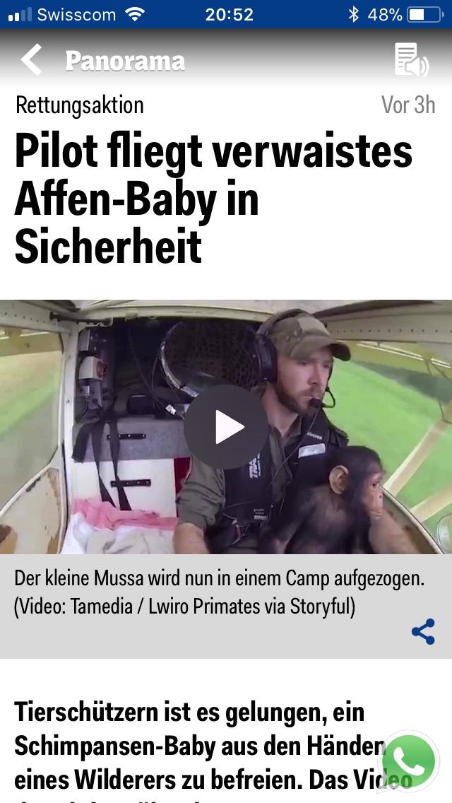 Zenith STOL in the Swiss news