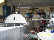 CH650 rear fuselage and stabilizer