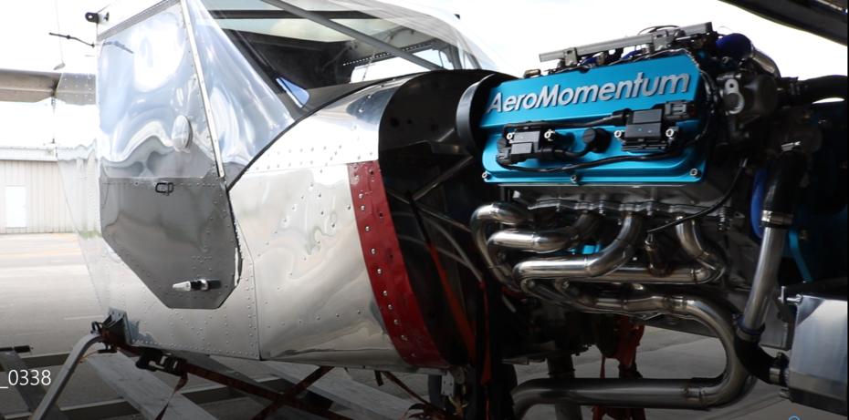 AeroMomentum Suzuki engine of CH701 fuselage