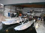 STOL CH 701 on Zenair floats