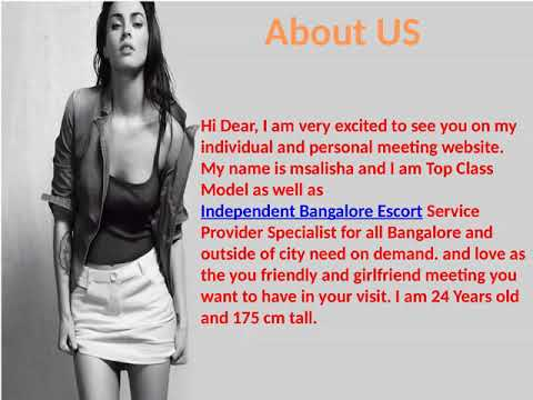 High Profile Bangalore modelsService In 5 star Hotels