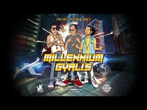 Vybz Kartel Ft. Shawn Storm & Shane O -  Millennium Gallis  | Official Audio |