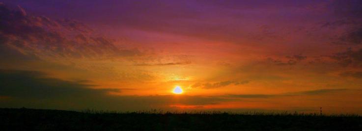 Ηλιοβασίλεμα στο Βορίτσι No 2