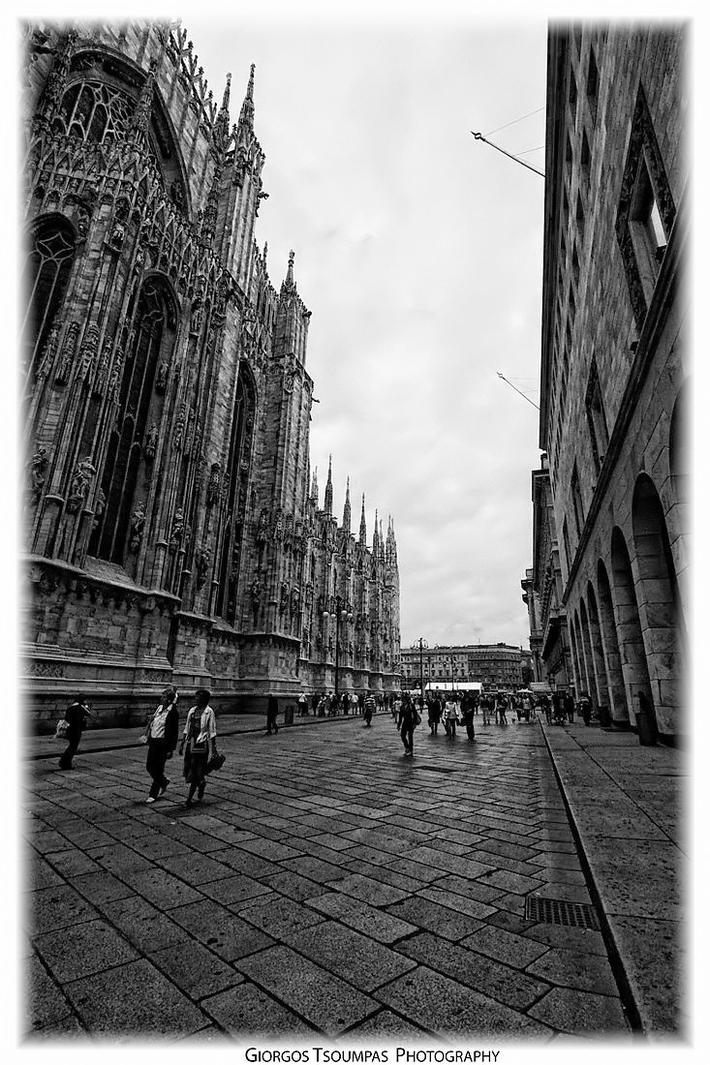 Corso Vittotio Emanuele II a Milano