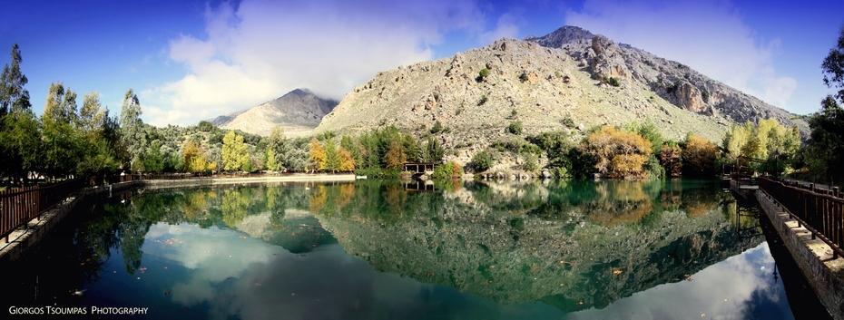 Πανοραμική της Λίμνης τού Ζαρού