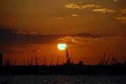 Ηλιοβασίλεμα στη συμπρωτεύουσα....