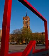 Καδράρισμα δημαρχείου Βερολίνου...Alexanderplatz