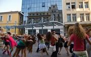9η Σεπτεμβρίου...Ημέρα κατά της αυτοκτονίας...Αθήνα κέντρο...Χορεύουμε για τη ζωή......
