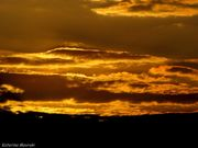 Sunset sky...!