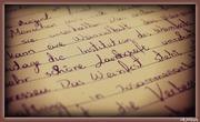 ένα γράμμα...