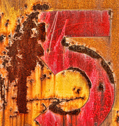 Rusty Old Number Five