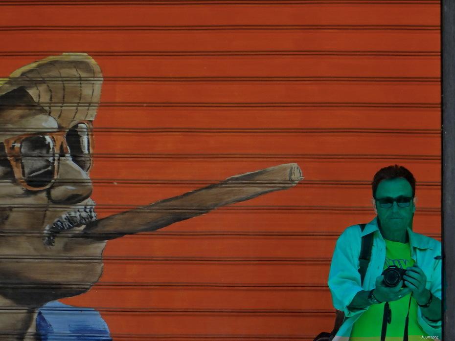 Η τεχνη του γκραφιτι και η ματαιοδοξια του φωτογραφιζεσθαι
