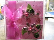 Pink Quilled