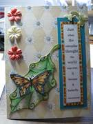 Butterfly with Outline Stamps