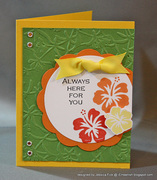 Always here for you kit card