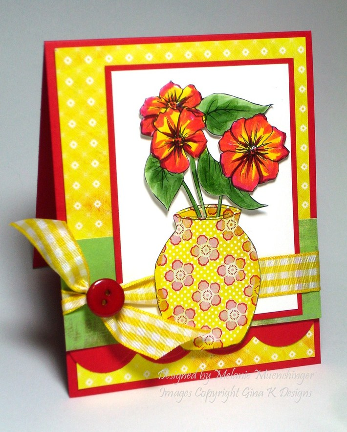 Buds and Vases: Paper Pieced