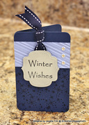 Winter Wishes/ Let it Snow card 5