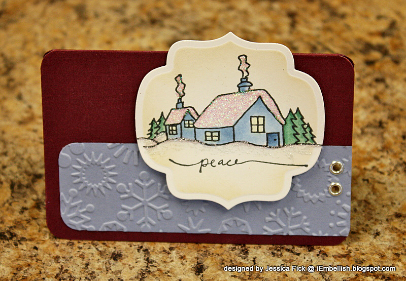 Winter Wishes/ Let it Snow card 6