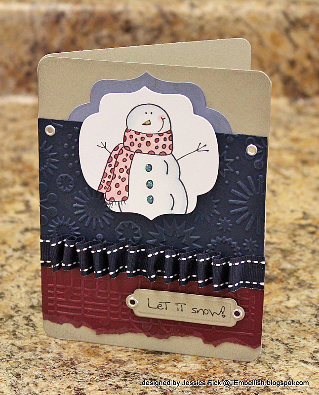 Winter Wishes/ Let it Snow card 2