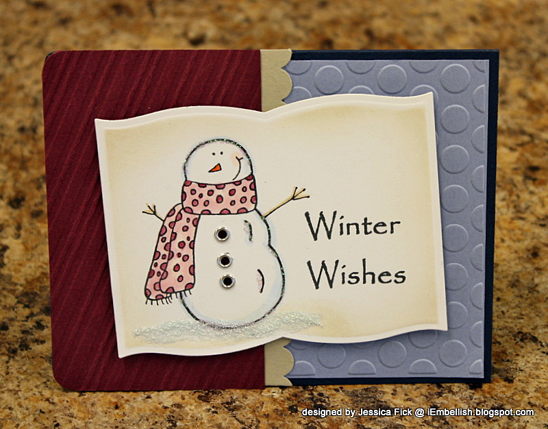 Winter Wishes/ Let it Snow card 1