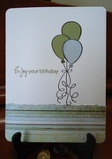 Paper pieced balloons