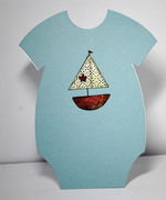 Paper Pieced Baby Boat