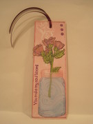 My Soul Blooms Bookmark
