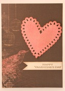 Pink and Brown Valentines