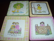 Set of Girly Cards
