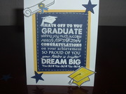 Graduation with graphic