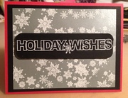 Embossed Holiday Wishes