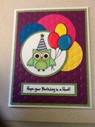 Give a Hoot Birthday Card