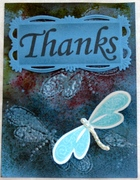 MSC Dragonfly -Thank You card - for Mod Squad Challenge