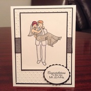 Mr & Mrs Diva Wedding card