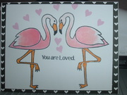 Flamingos You are Loved