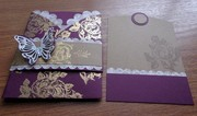 Trifold Pocket Card with inside